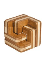 Fridolin IQ Test Bamboo Puzzle - Stairs