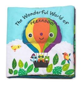 Melissa & Doug Baby Soft Book - The Wonderful World of Peekaboo!