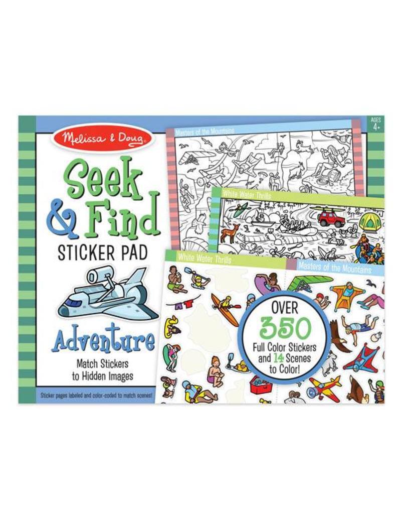 Melissa & Doug Sticker Pad - Seek and Find Adventure
