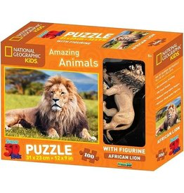 National Geographic National Geographic Kids - 3D Puzzle - Lion