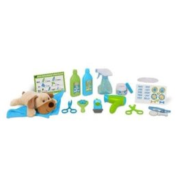 Melissa & Doug Wash & Trim Dog Grooming Play Set