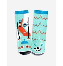 Pals Socks Pals Socks - 1-3 Years - Robot & Alien