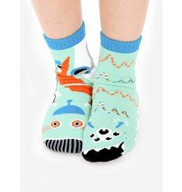 Pals Socks Pals Socks - 4-8 Years - Robot & Alien