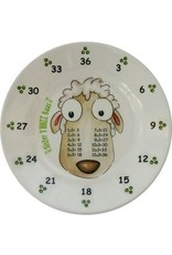 Realtimes Products The Multiples Times Table Dinnerware Sister 3 Baas 6.5 inch Melamine Plate