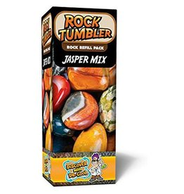 Dr. Cool Science Rock Tumbler Rock Refill Pack - Jasper Mix