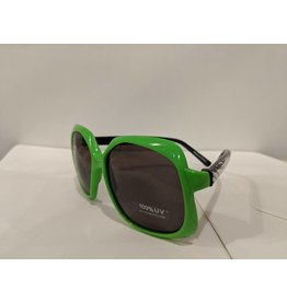 Bling2O Sunglasses - Green Frame & Rhinestone Star