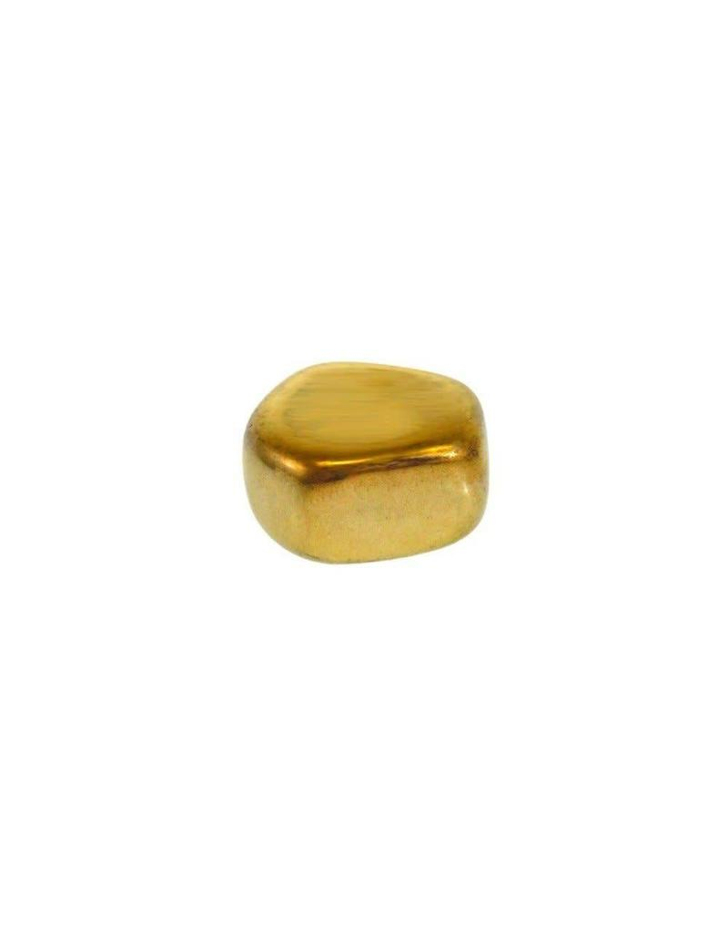 Squire Boone Village Magnet Orb - Stone - Gold