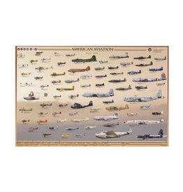 Safari Ltd. Poster - American Aviation