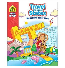 School Zone Workbook - Travel the Great States