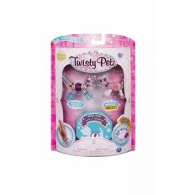 Toysmith Twisty Petz - Series 1 - Butterscotch Unicorn & Berrytales Cheetah