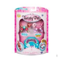 Toysmith Twisty Petz - Series 1 - Marigold Unicorn & Cakecup Puppy
