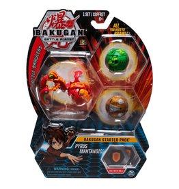 Toysmith Bakugan Battle Planet- Starter Kit - Pyrus Mantanoid