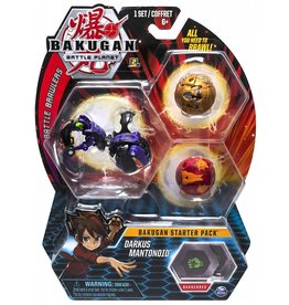Toysmith Bakugan Battle Planet- Starter Kit - Darkus Mantonoid