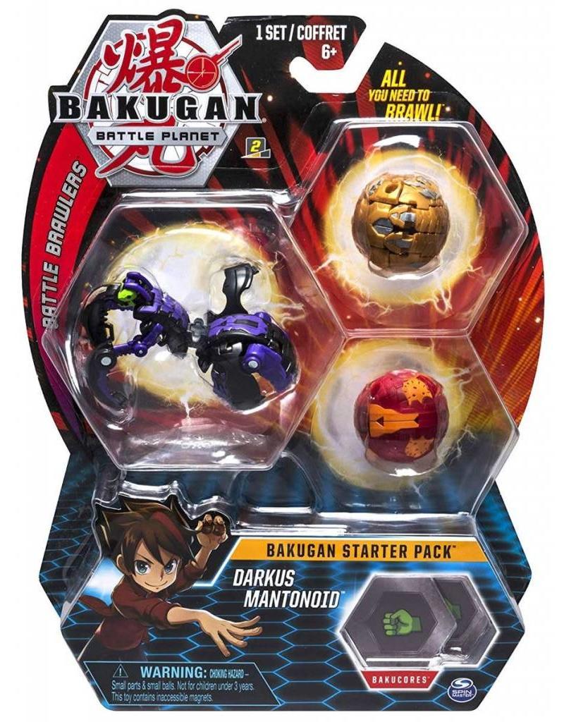 Toysmith Bakugan Battle Planet- Starter Kit - Darkus Mantonoid