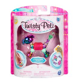 Toysmith Twisty Petz - Series 1 - Candystripe Puppy