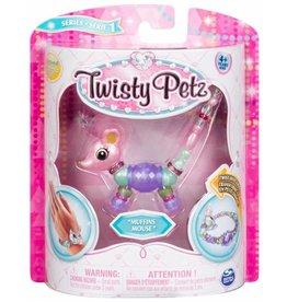 Toysmith Twisty Petz - Series 1 - Muffins Mouse
