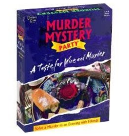 University Games Game - Murder Mystery Party - A Taste for Wine and Murder