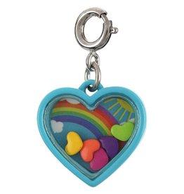 CHARM IT! Rainbow Heart Shaker Charm