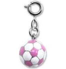 CHARM IT! Charm It! Pink Soccer Ball Charm