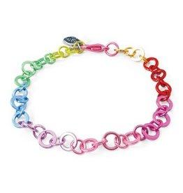 CHARM IT! Rainbow Chain Charm Bracelet