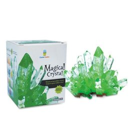 Tedco Toys Magical Crystal - Apple Green