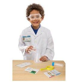 Melissa & Doug Costume - Scientist Role Play Set W/LOGO