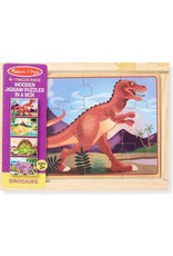 Melissa & Doug Puzzle in a Box - Dinosaurs