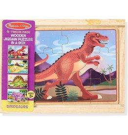 Melissa & Doug Puzzle Box - Dinosaurs