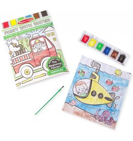 Melissa & Doug Activity Pad Paint With Water Vehicles