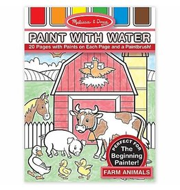 Melissa & Doug Activity Pad Paint With Water - Farm Animals
