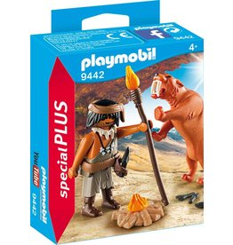 Playmobil Playmobil Caveman with Sabertooth Tiger
