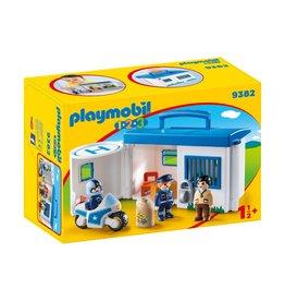Playmobil 123 Playmobil 123 Take Along Police Station