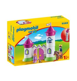 Playmobil Playmobil 123 Castle with Stackable Towers