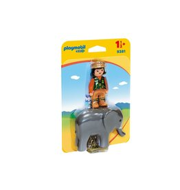 Playmobil 123 Playmobil 123 Zookeeper with Elephant