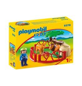 Playmobil 123 Playmobil 123 Lion Enclosure