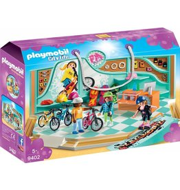 Playmobil Playmobil City Life - Bike & Skate Shop