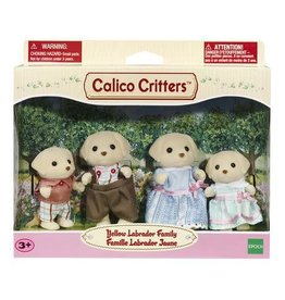 Calico Critters Calico Critters Yellow Labrador Family