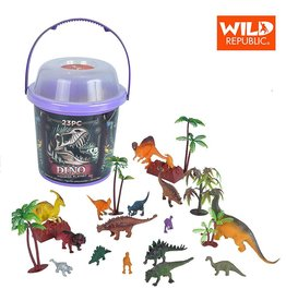 Wild Republic Bucket - Dinosaur (32 Piece Set)