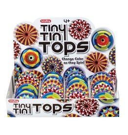 Schylling Toys Tiny Tin Tops