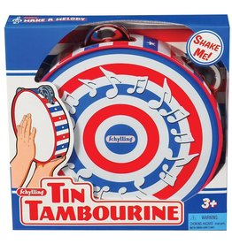 Schylling Toys Tin Tambourine