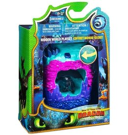 Spin Master How to Train Your Dragon Hidden World Playset - Toothless