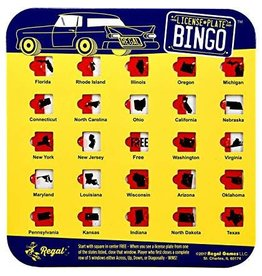 Regal Games License Plate Bingo (colors Vary)