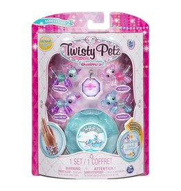 Spin Master Twisty Petz Babies Series 2 - Pinky & Binky Unicorn, Dot & Dash Koala