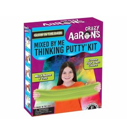 Crazy Aaron Putty Glow in the Dark Mixed by Me Thinking Putty Kit