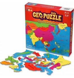 Geo Toys GeoPuzzle - Asia