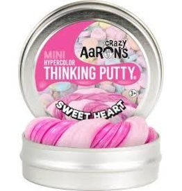 "Crazy Aaron Putty Crazy Aaron's Thinking Putty - Hypercolor - Sweetheart 2"" Mini Tin"