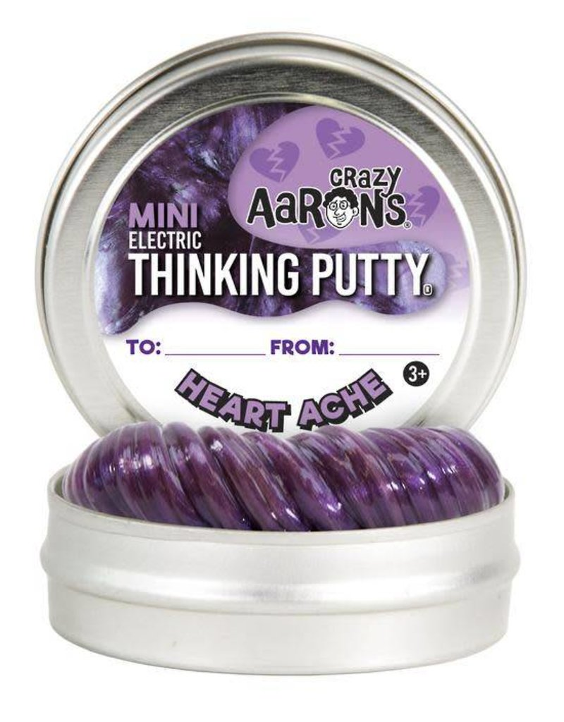Crazy Aaron Putty Crazy Aaron's Thinking Putty - Electric Heart Ache Mini Tin