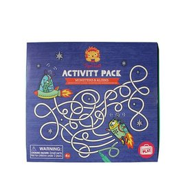 Tiger Tribe Monsters & Alien - Activity Pack