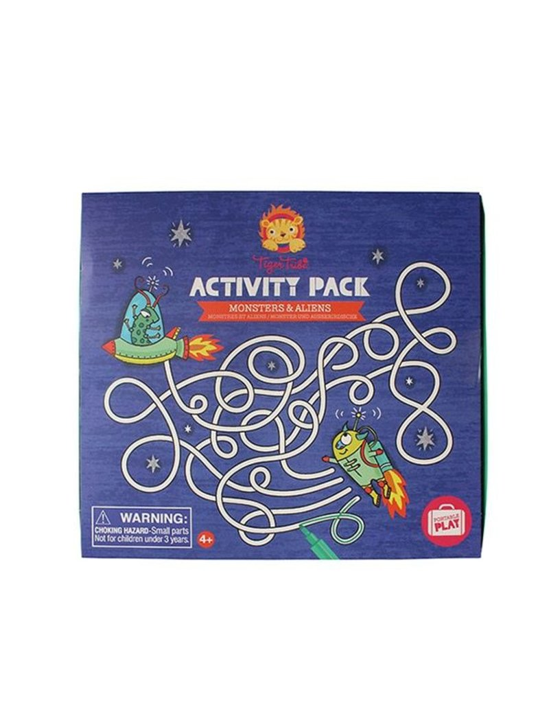 Tiger Tribe Tiger Tribe Activity Pack - Monsters & Alien