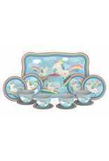 Schylling Toys Unicorn Tin Tea Set